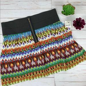 Mimi Chica XL Skirt Elastic Waist Zip Front